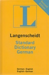 Standard German Dictionary - German/English - English/German