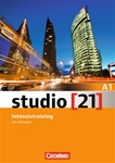 MORE STOCK DUE 7/25/18 Studio [21] A1 Intensivtraining mit Hörtexten (Exercise book with Audio-CD)