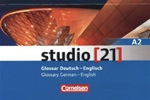 Studio [21] A2 Glossary German-English