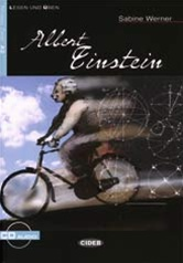Albert Einstein mit Audio CD (A2)