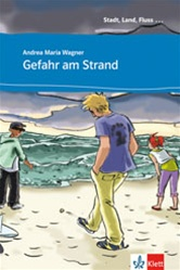 Gefahr am Strand - Level A1 Reader with Audio CD