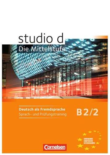 Studio D B22 Sprach Und Prã¼fungstraining Arbeitsheft
