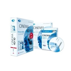 Cinema 4D 10 Premium-Edition. CD-ROM